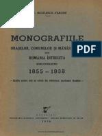 1934 Ghid Oficial Cu 30 de Harti OCR