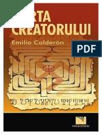 Emilio Calderon - Harta Creatorului