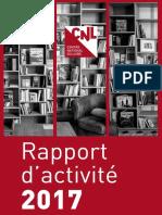 Rapport d'activités 2017 du Centre national du livre