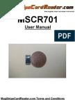 MSCR701 User Manual