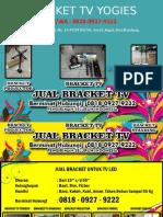 0818.0927.9222 (Yogies)   Bracket Murah Yogies Terbaru Dan Terbaik Di Bandung, Bracket Tv Yogies