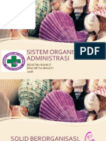 Sistem Organisasi Dan Administrasi