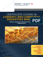Certificate Course in Currency and Commodity Derivatives Markets