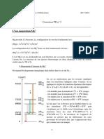 Correction TD 5 - 4P050