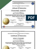 Certificatifation Prc Bon