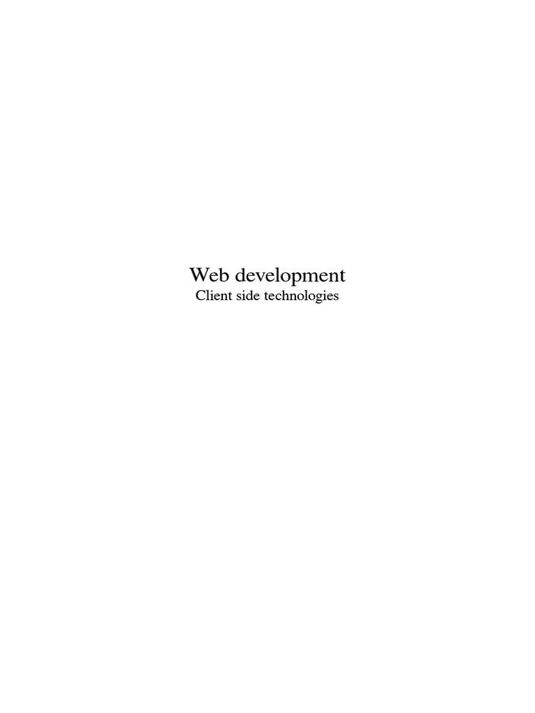 Web Development   Html   Html Element