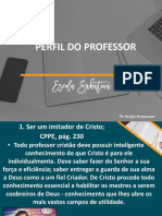 Perfil Do Professor