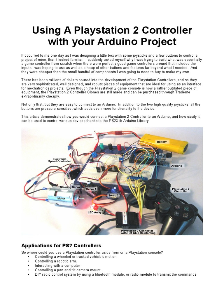 PS2_to_Arduino_V1b pdf   Electrical Connector   Arduino