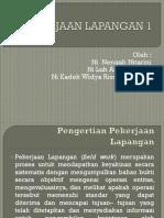 PEKERJAAN LAPANGAN 1.pptx