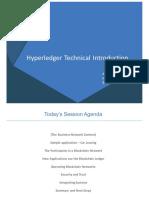 Exploring Hyperledger Applications