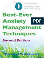 Margaret Wehrenberg - The 10 Best-Ever Anxiety Management Techniques (2018, W. W. Norton & Co.)