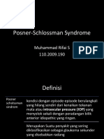 Posner Schlossman Syndrome