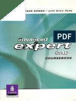 ADVANCED EXPERT CAE - Coursebook - Jen Bell, Roger Gower, Drew Hyde.pdf