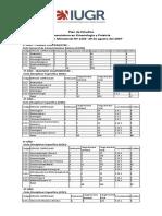 Plan de Estudios LKF