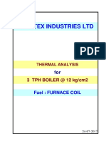 Thermal 3TPH 12Kg FO Fired Boiler R0