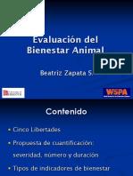 Clase Evaluacion de Bienestar Animal