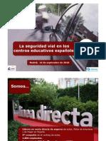La seguridad vial en los centros educativos españoles