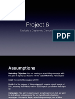 Udacity DMND Project 6 - Evaluate a Display Ad Campaign
