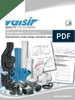 Valsir - Waste Water Inside Buildings (Technical Manual - Tehnicki Katalog)