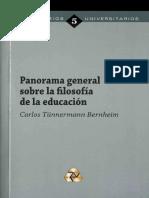 Tünnermann Bernheim - Panorama-general-sobre-la-filosofia-de-la-e-educacion.pdf