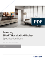 [Specification Book] SMART Hospitality Display_Middle East&Africa