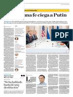 Le Tiene Una Fe Ciega a Putin