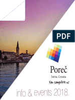 Porec Info and Events 2018