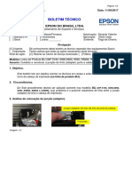 Bt17- 006 - Cuidados Ao Reinstalar a Junção de Tinta Na Cabeça de Impressão