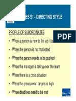 Slide Deck - Leadership Styles