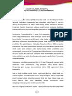 Analisis SKL, KI, KD, Indikator, Silabus Dan Pembelajaran Tematik Terpadu (1)