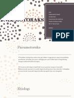 PNEUMOTORAKS slide