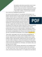 Artigo - Rascunho e Paragrafos