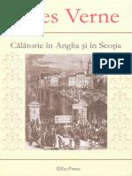 Jules Verne 52- Calatorie in Anglia Si in Scotia