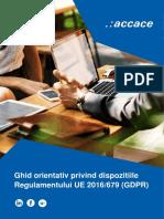 RO 2018-03-20 Ghid Orientativ Privind Dispozitiile Regulamentului UE 2016 679 GDPR RO Compressed