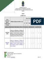 Anexo I Quadro de Vagas Publicação RETIFICAÇÃO N1