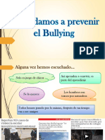 Aprendamos a Prevenir El Bullying