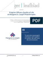 MACP - Program Officers - Quality of Life