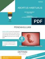 abortus habitualis