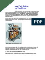 Jenis Hubungan Pada Belitan Transformator Tiga Phasa.docx