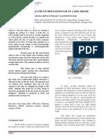 Design and Analysis of Disk Brake