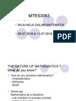 MTES3063 - NILAI