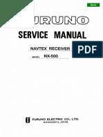 FURUNO NX500 SME-B