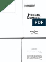Richard Bandler And John La Valle - Persuasion Engineering.pdf