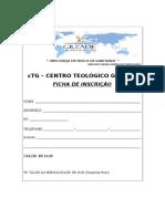 FICHA DE INSCRIÇÃO CENTRO TEOLOGICO.doc