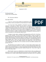 Ohio Attorney General Cordray Letter to GMAC Foreclosures