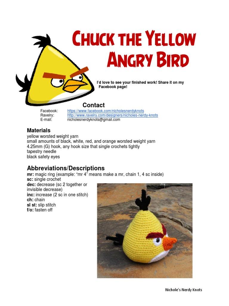 Solmuteoriaa   Crochet Patterns   Angry Birds Stella   1024x768