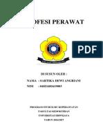 Cover Catatan Perawat