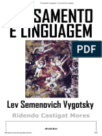 Pensamento e Linguagem - Lev Semenovich Vygotsky