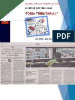 Auditoria Tributaria 2018-i -1