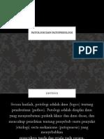 Patologi Dan Patofisiologi